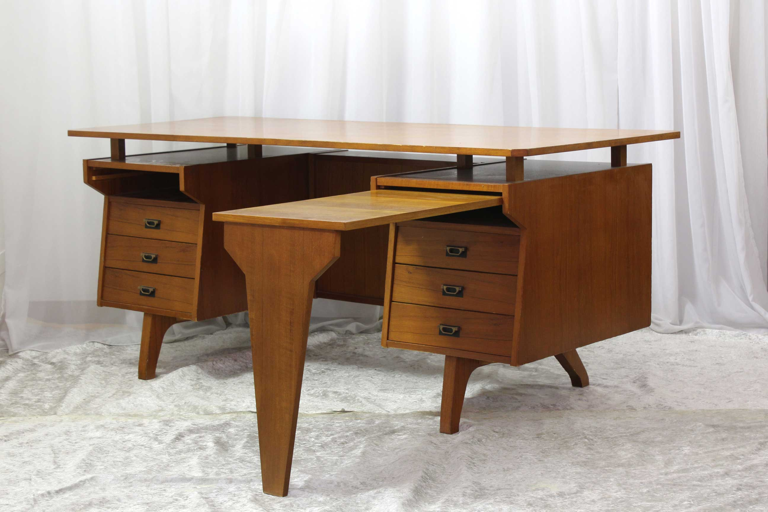 Scrivania In Teak.Buy Vintage Furniture Online Shop Online Vlab Vlab Design